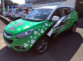 enterprise gumball rally ix35 hyundai rainbow trust