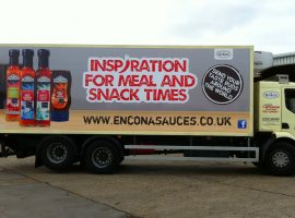 grace foods truck graphics
