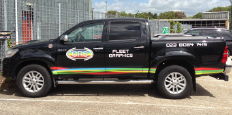 fleet car graphics