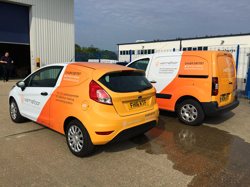 fleet van graphics