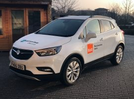 Enterprise Car Club B&Q car vinyl