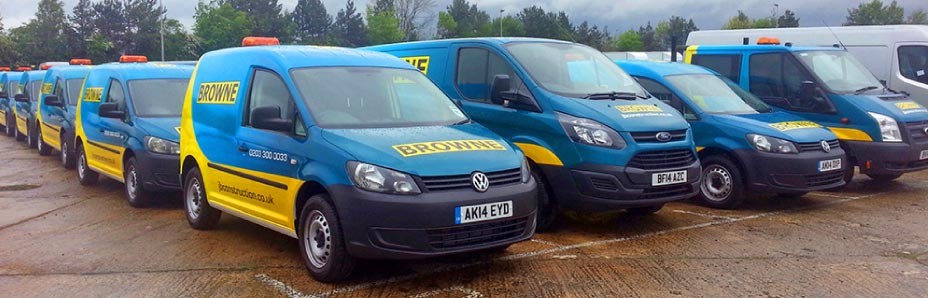 London fleet vehicle graphics