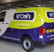 fleet van wrapping