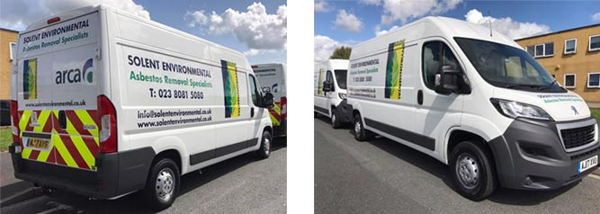 fleet vehicle graphics Kent