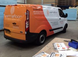 Warmafloor Van Wrapping